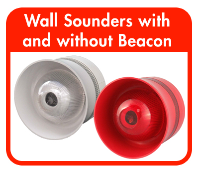 Wall Sounders with and without Beacon