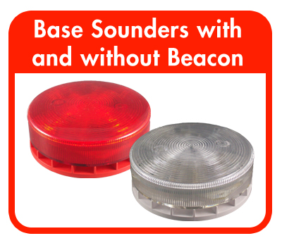 Base Sounders with and without Beacon