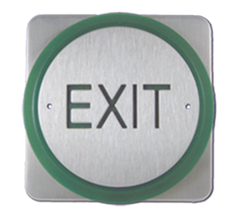 Exit Buttons range from CQR Fire & Security