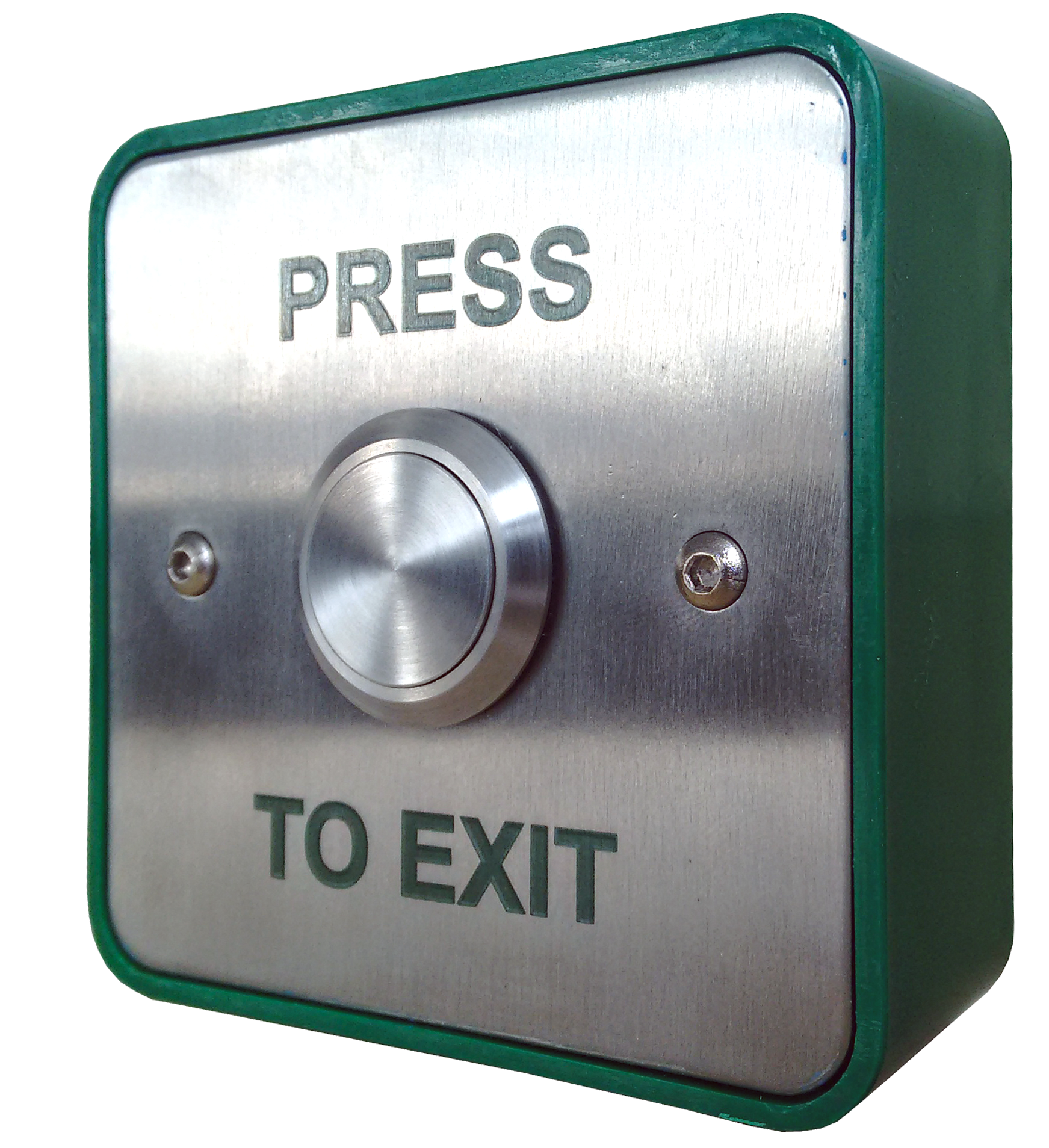 XB/SS25 - Small Push Plate Exit Button